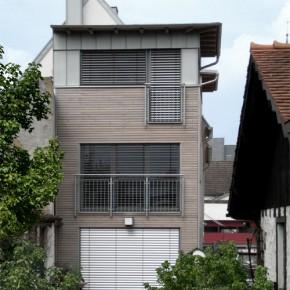 Sanierung eines Wohnhauses mit Werbeagentur, Kleinwallstadt