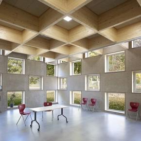 Mensa Salmtal beim Heinze ArchitektenAWARD 2015