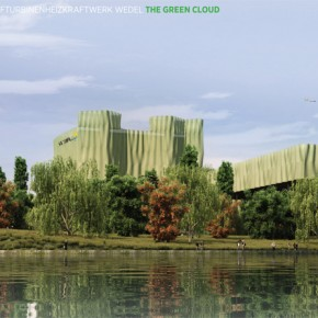 Gas- und Dampfturbinen Heizkraftwerk Wedel, Hamburg - The Green Cloud