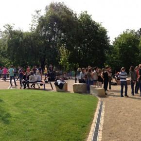Schulhof des NvKG Bernkastel eingeweiht