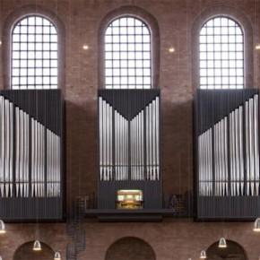 Gerüstplanung Neue Orgel Basilika, Trier