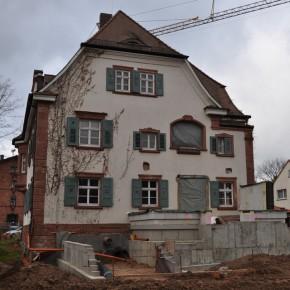 Ehemaliges Forstamt, Umbau, Sanierung und Anbau, Kleinwallstadt