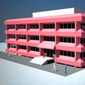 Fassadensanierung Bürogebäude, Gerolstein